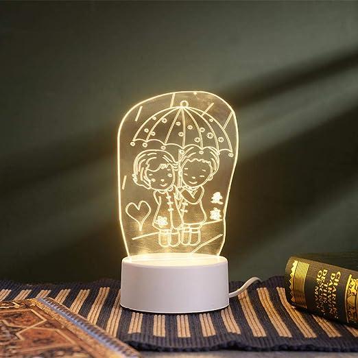 Kreatives Geschenk 3D Nachtlicht Schlafzimmer