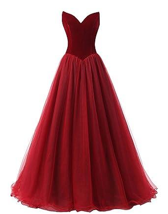 Velvet Dresses for Prom