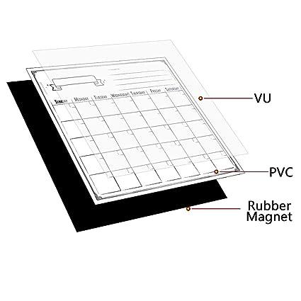 Smart planificador mensual de magnético Frigorífico de ...