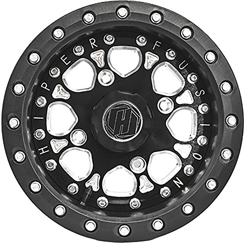 Hiper Wheel 14X7 Sbl Fs14'' 4+3 4/156 1470-PBKB4-43-SBL-BK by Hiper Technology (Image #2)