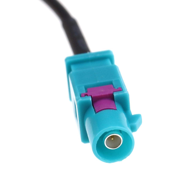 Creative-Idea 2M RG174 Fakra-Z M/âle /à Femelle Convertisseur de C/âble Voiture Radio Antenne Adaptateur Extension C/âbles Connecteur de Plomb pour GPS GSM Navigation