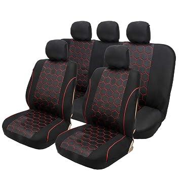 Dividir hacia atrás la cubierta del asiento del automóvil ...