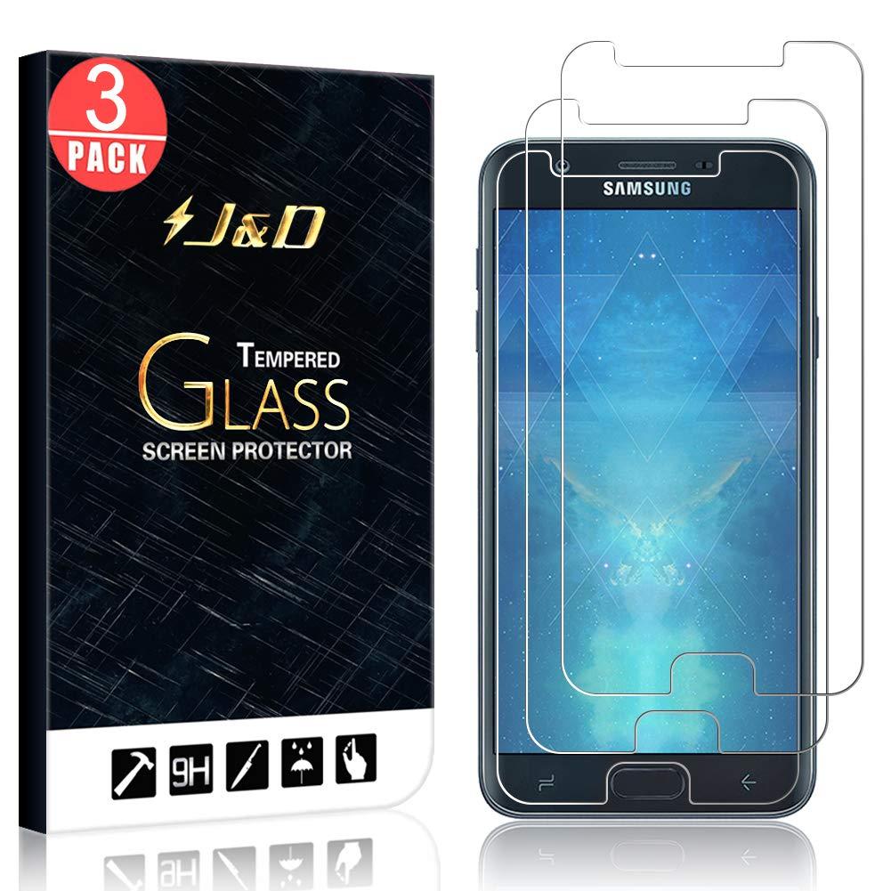 Vidrio Templado Para Samsung J7 2018 [3 Un.] J%26D