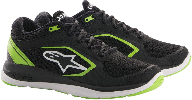 Alpinestars Alloy Shoes (13) (Black/Green)