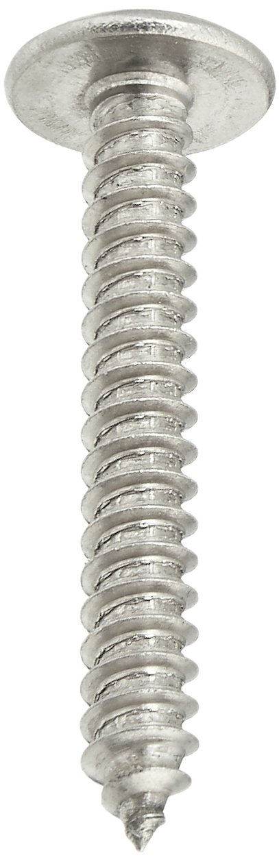Plain Finish Small Parts 1224ABPT188 Phillips Drive #12-14 Thread Size Pack of 10 1-1//2 Length Truss Head Type AB 18-8 Stainless Steel Sheet Metal Screw 1-1//2 Length Pack of 10