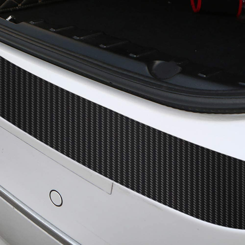 MWJK Autom/óvil Fibra de Carbono Protecci/ón para Parachoques Pegatinas para Ford Focus mk2 st Vignale st-Line f150
