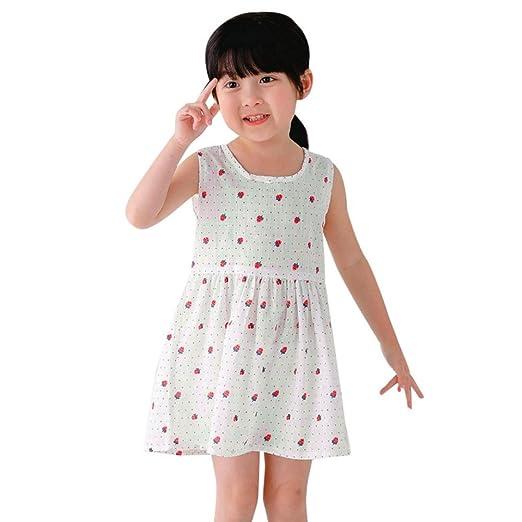 Amazon.com: Lurryly 2018 Baby Girls Toddler Summer Princess Cute ...