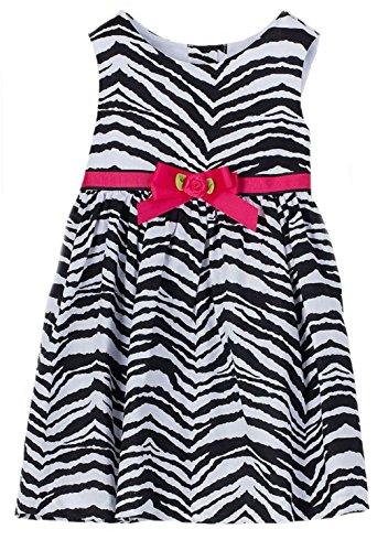 Zebra Rose Dress - 7