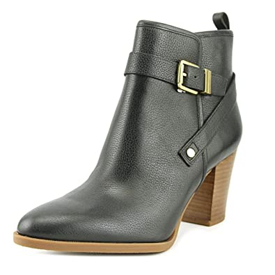 Womens Delancy Leather Pointed Toe Ankle Fashion Boots