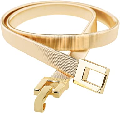 SALE Bright Yellow and Double Row Chain Design Belt Woman Girls Fashion Belt