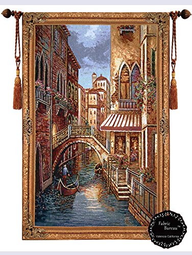 beautiful-canal-with-shops-fine-tapestry-jacquard-woven-wall-hanging-art-decor
