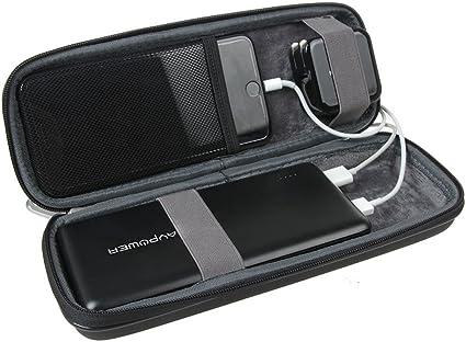 Black Anker Power Core 26800mAh// PowerCore +26800mAh Dulla M50000 Power Bank 12000mAh skynew Hard Travel Case Compatible RAV Power 26800//20100//20000mAh