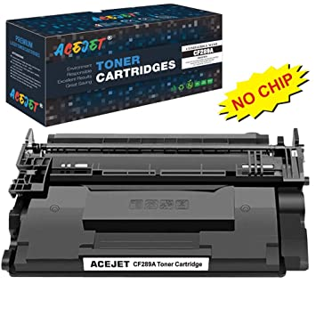 ACEJET - Cartucho de tóner Compatible CF289A para impresoras láser ...