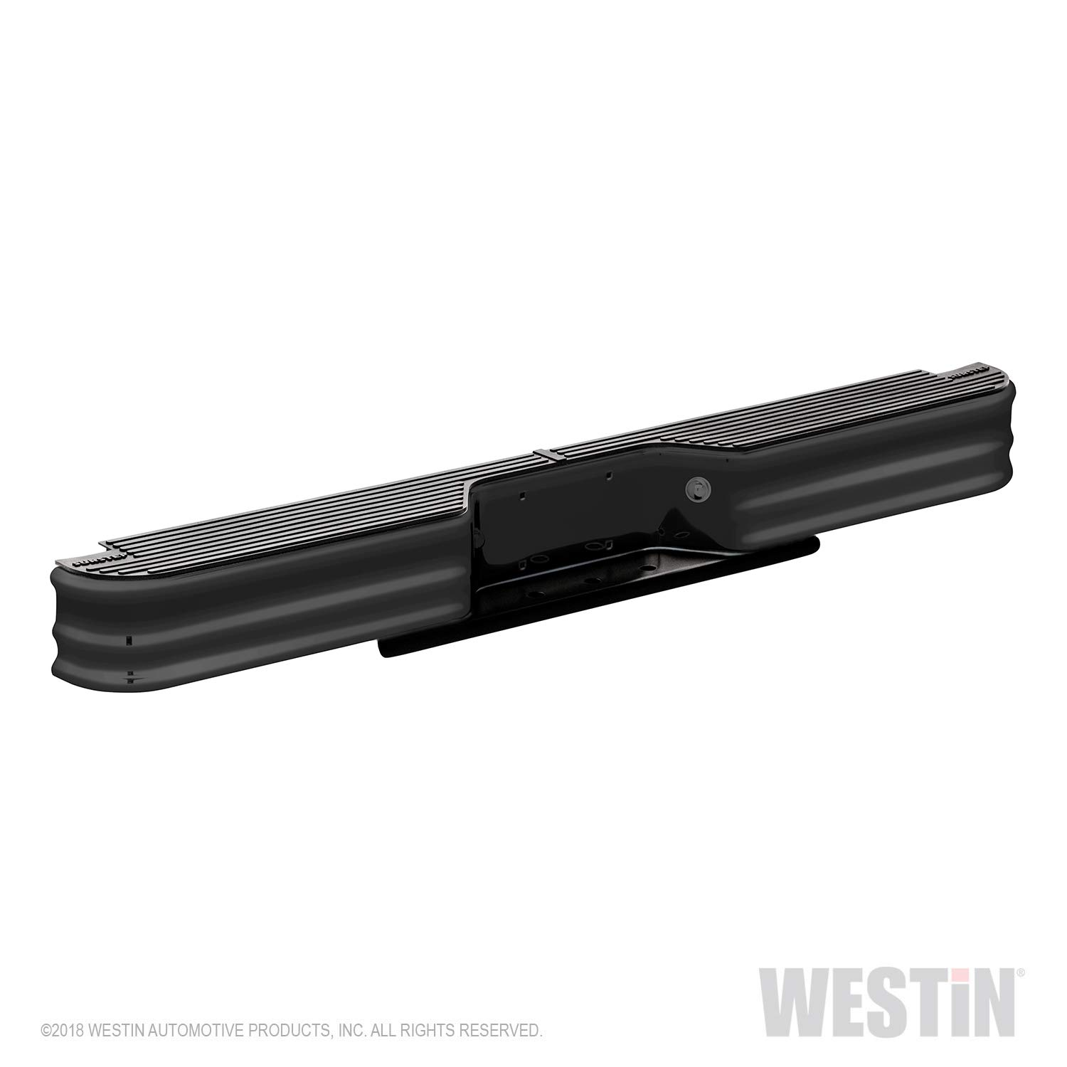 Fey 66001 SureStep Universal Black Replacement Rear Bumper (Requires Fey vehicle specific mounting kit sold separately) Westin
