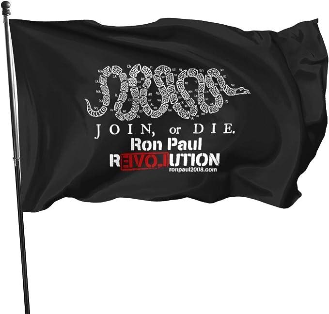 N/F Ron Paul Revolution Dark - Banderas de bandera ...