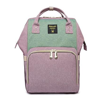 Mefe Nappy bolso cambiador pañales mochila multifunción gran, gran capacidad viaje mochila momia mochila para
