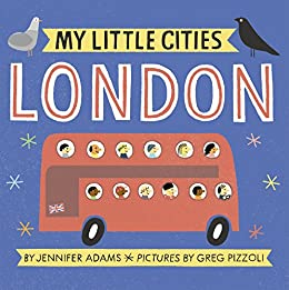 My Little Cities: London by [Adams, Jennifer]