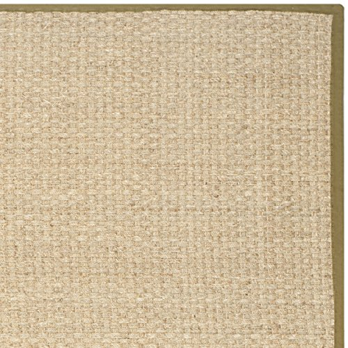 Safavieh-Natural-Fiber-Collection-NF114G-Basketweave-Natural-and-Olive-Seagrass-Area-Rug-8-x-10
