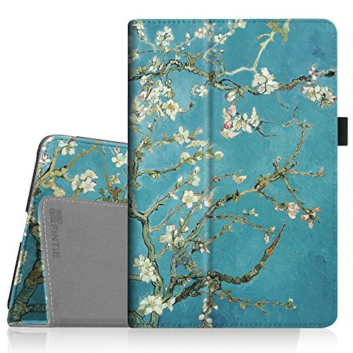 Fintie iPad Mini 4 Case - Premium Vegan Leather Folio Case Smart Stand Protective Cover with Auto Sleep/Wake Feature for Apple iPad Mini 4 Released on 2015, Blossom