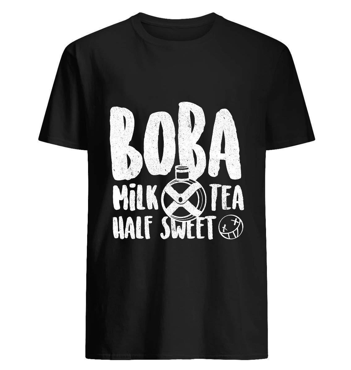 Boba Milk Tea Half Sweet 1 T Shirt For Unisex