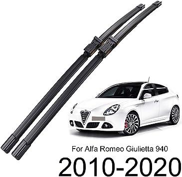 Xukey Set di 2 spazzole tergicristallo anteriori per Giulietta 940