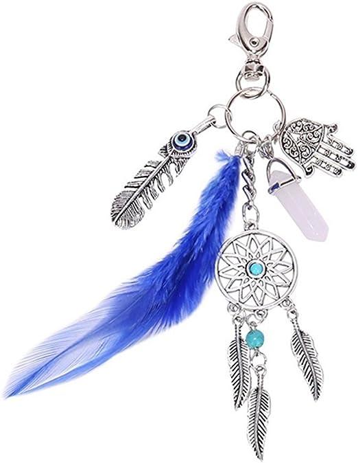 Kanggest 1 Piezas Llaveros de Coche B/ádminton Forma Peque/ños Cadena de Clave Key Holder Para Decoraci/ón del Coche//Puerta//Tel/éfono//accesorio de bolso