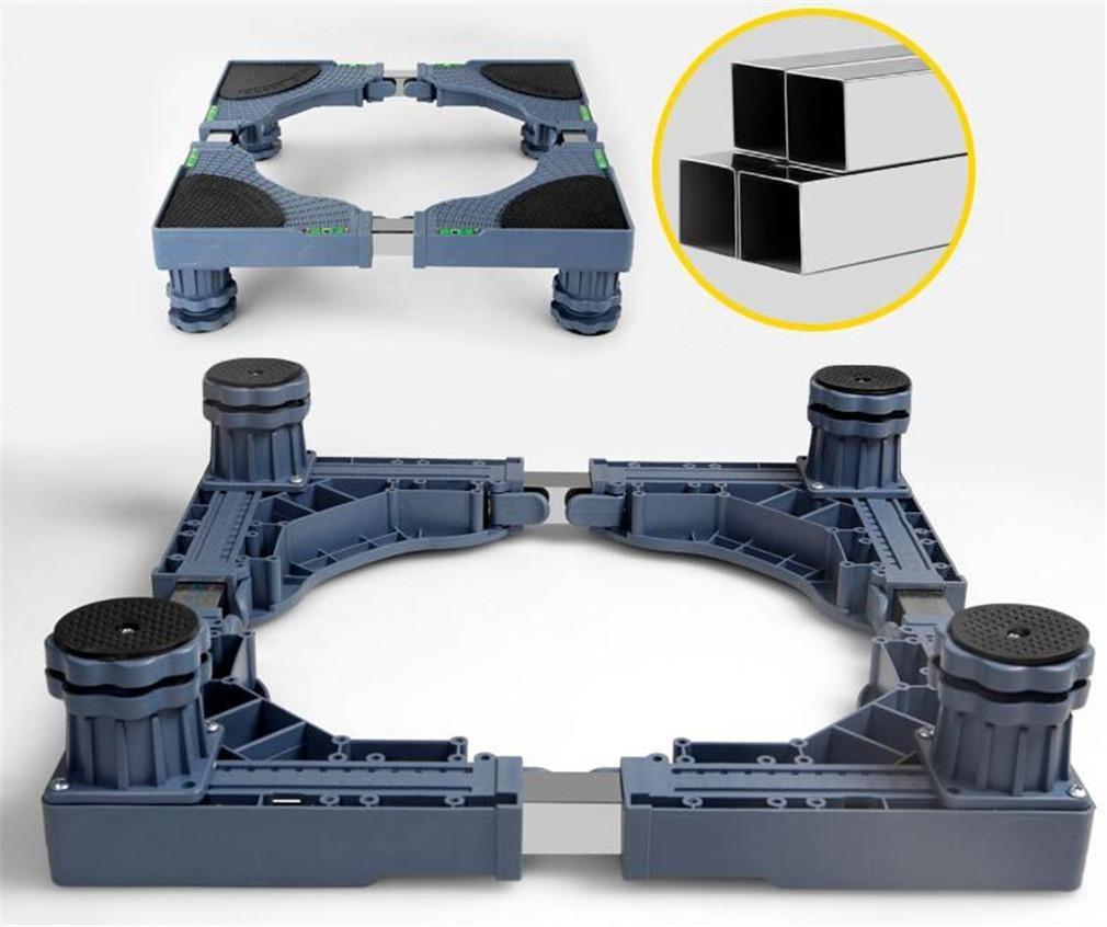 XIAOMEIXI Movable Machine Base Washing Machine Base Frame Stent Bracket Refrigerator Pulsator Accessories Adjustable Height , A