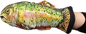 """DEI 12023 Fish Oven mitt, 13"""" x 7.5"""", Mulitcolor"""