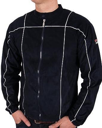 4158bcdf34f8 Fila Vintage Terrinda Mk3 Track Top Navy M Navy  Amazon.co.uk  Clothing