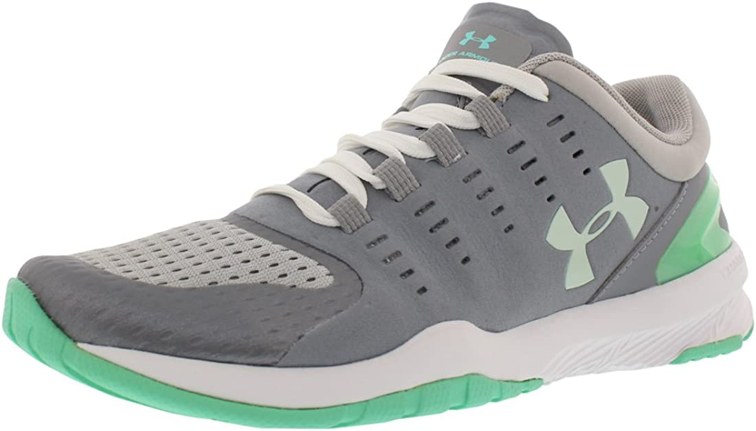 Under Armour Womens Charged Stunner Training Shoe Steel ...