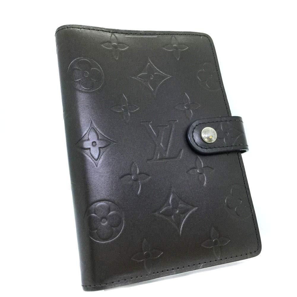 (ルイヴィトン)LOUIS VUITTON アジェンダPM R20932 手帳カバー モノグラムマット メンズ 中古   B07Q3BDKXN