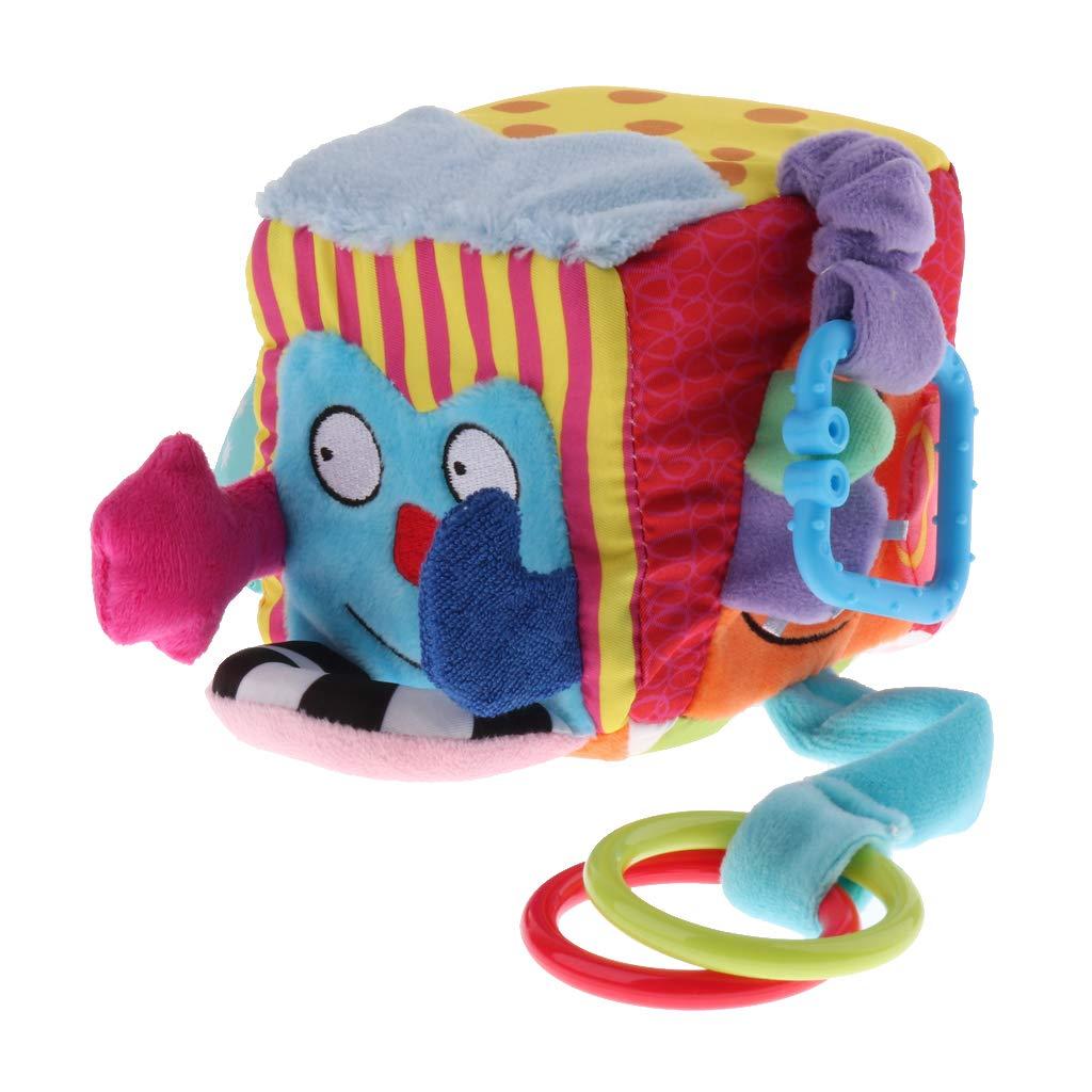公式の  F Fityle ベビー 赤ちゃん用 B07JHLT94X ラトルブロック キューブラトル F ぬいぐるみ おもちゃ B07JHLT94X, はじまる二貨店:7e831ccc --- a0267596.xsph.ru