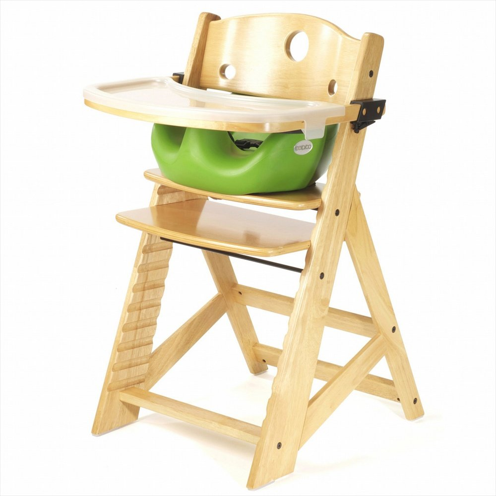 baby dining chair. Amazon.com : Keekaroo Height Right High Chair, Infant Insert And Tray Combo, Natural/Lime Childrens Highchairs Baby Dining Chair B