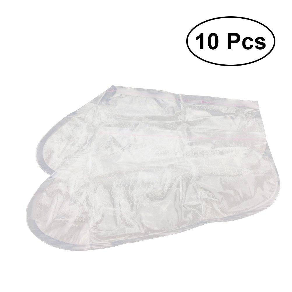 Maschere dei piedi ROSENICE Maschera esfoliante idratante pedicure per rimozione calli e odore piedi 10 Paia