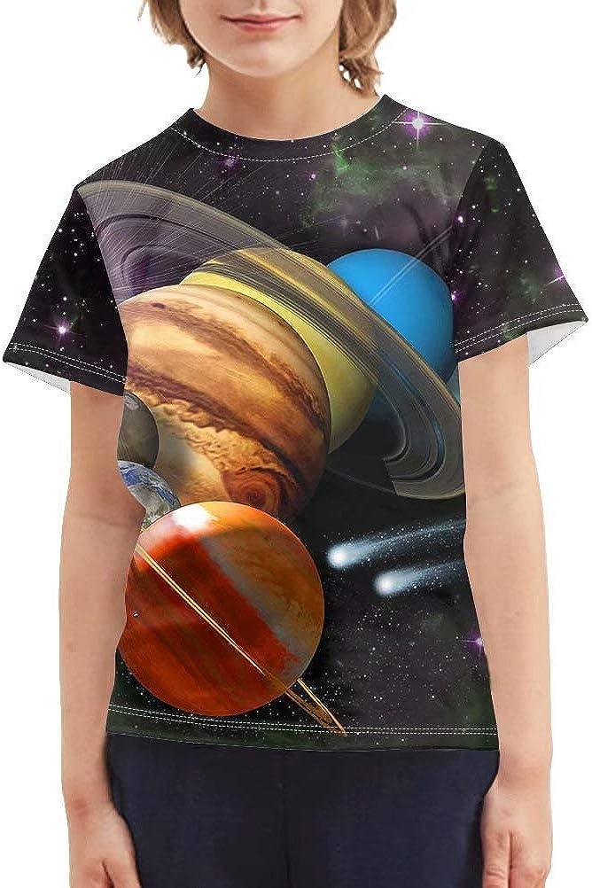 idea regalo per bambini dai 3 ai 16 anni casual a maniche corte estiva maglietta a maniche corte unisex Chaqlin