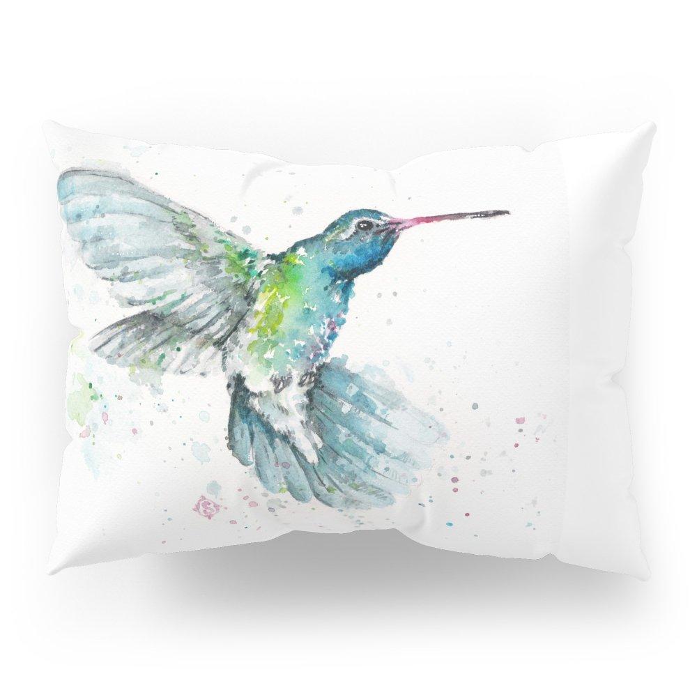 Society6 Hummingbird Flurry Pillow Sham Standard (20'' x 26'') Set of 2