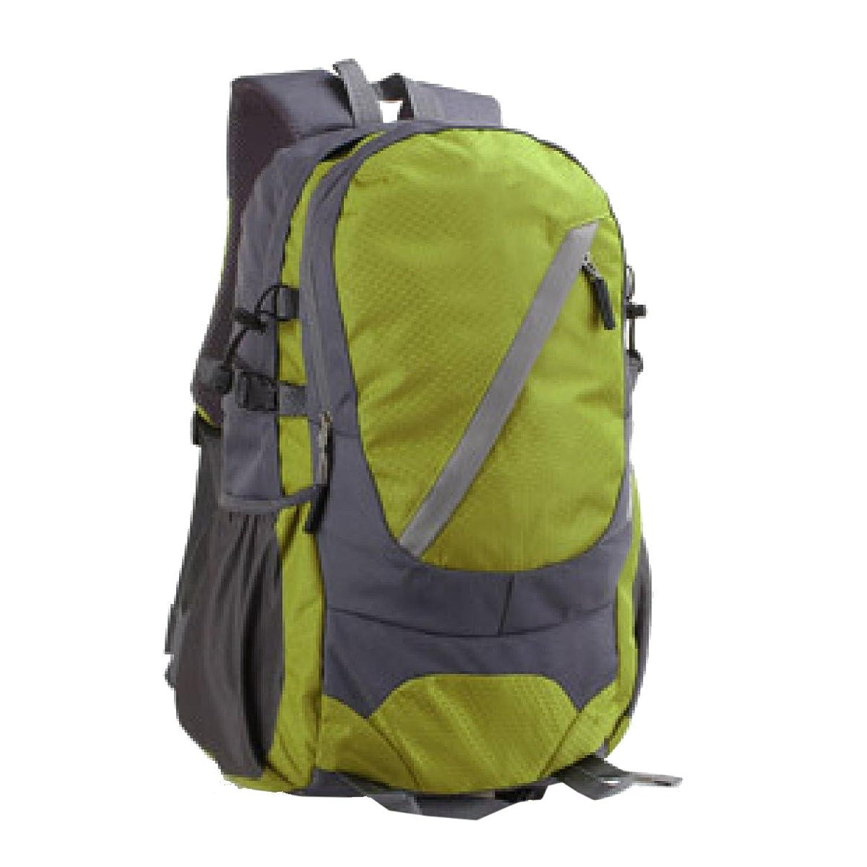 Outdoor-Rucksacktasche Schultertasche Wasserdicht Regensicher Staubdichter Rucksack Rucksack Trekking-Camping Klettern Radfahren. Mehrfarbig,Green-32*22*53cm Yy.f handbags