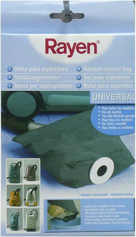 Rayen 6328.50 - Bolsa de aspiradora de tamaño universal, color gris: Amazon.es: Belleza