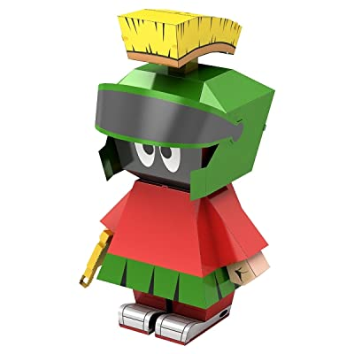 Fascinations Metal Earth Looney Tunes Marvin The Martian 3D Metal Model Kit: Toys & Games [5Bkhe2002325]