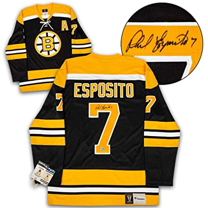 Image Unavailable. Image not available for. Color  Phil Esposito Signed  Jersey ... e04cbcfe93e