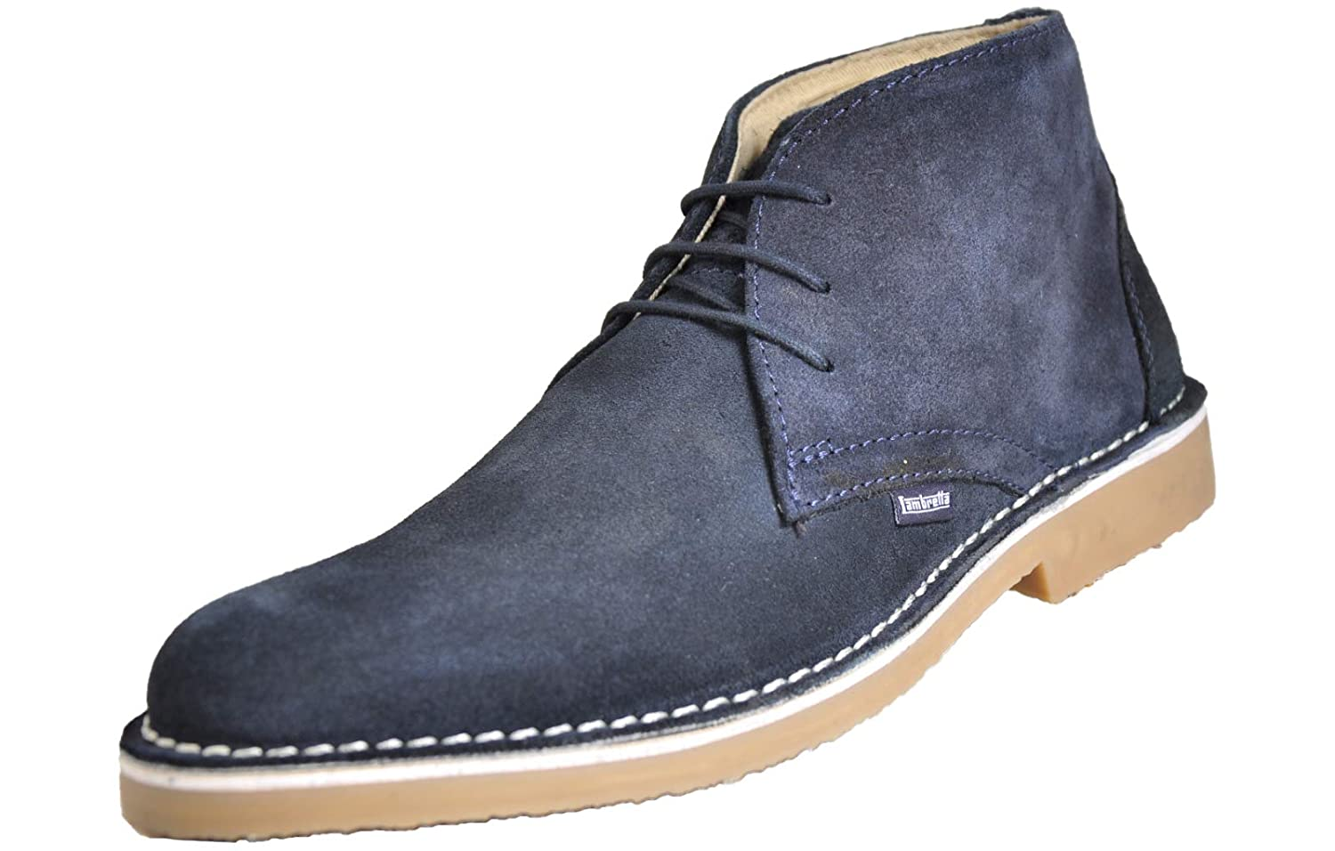 3253980a269 Lambretta Carnaby Mens Classic Suede MOD SKA Lace Up Desert Boots ...