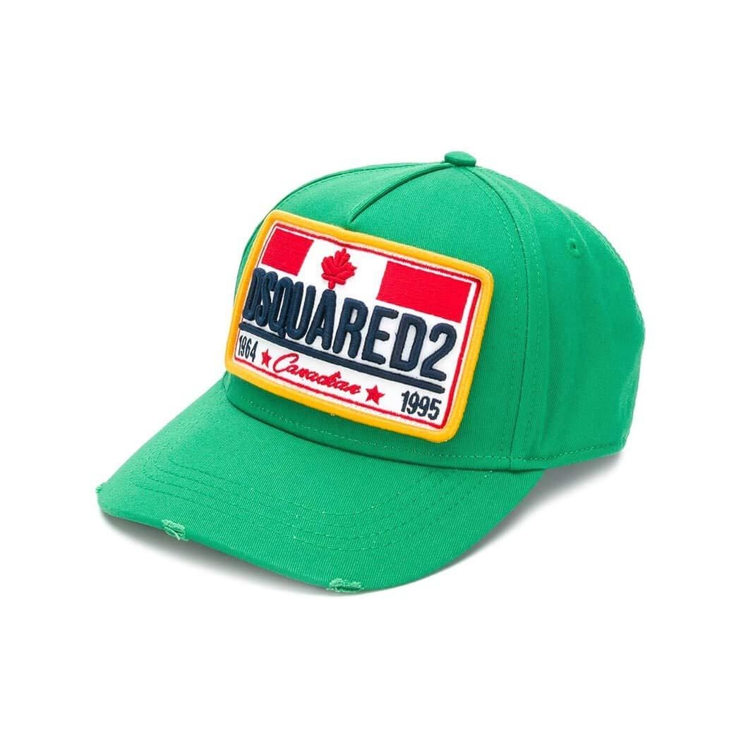 DSQUARED2 Canadian Flag Gorras Hombre smeraldo: Amazon.es: Ropa y ...