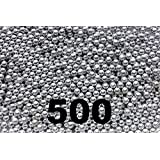 500 ct Silver Zinc Plated Metal BBs 4.5mm (.177 Cal)