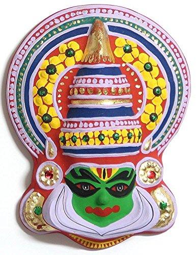 Kathakali mask wall hanging paper pulp