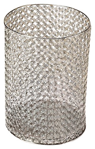 Umbrella Basket in Distressed Silver Finish 797209