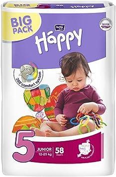 Happy Bella Baby Windeln Gr 4 Maxi Plus 9-20 kg  62 oder 248 Stück