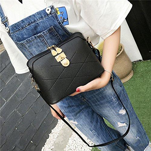 Sac à Cabina La Sac en Bandoulière Cuir Bag Simple d'épaule Petit PU Noir Crossbody Fille tzU4dUq