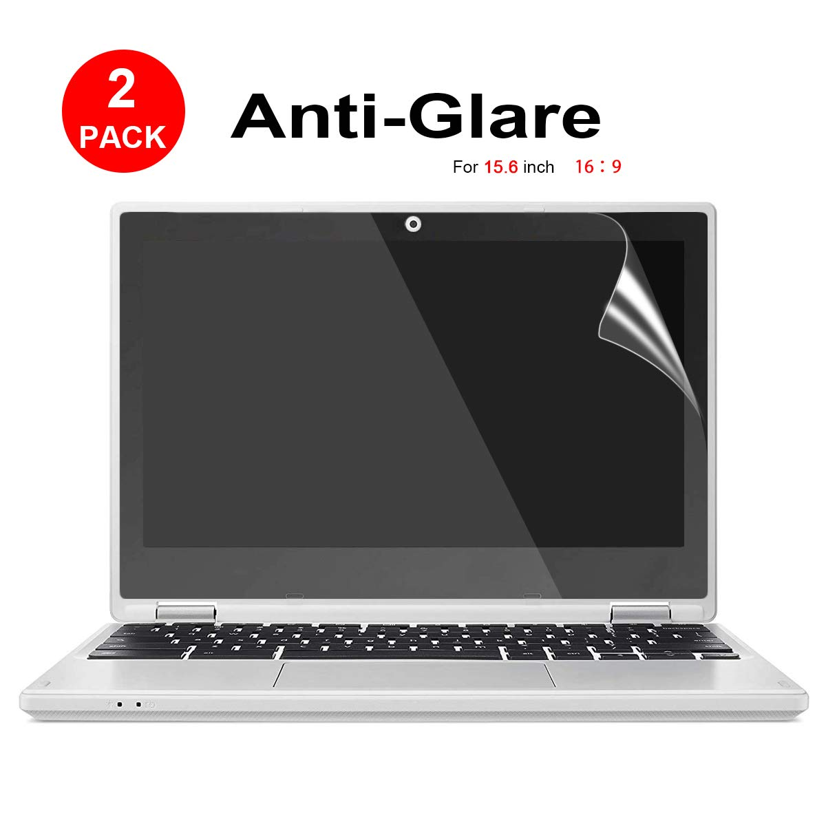 Protector De Pantalla Anti-glare 15.6 Display 16:9 (x2)