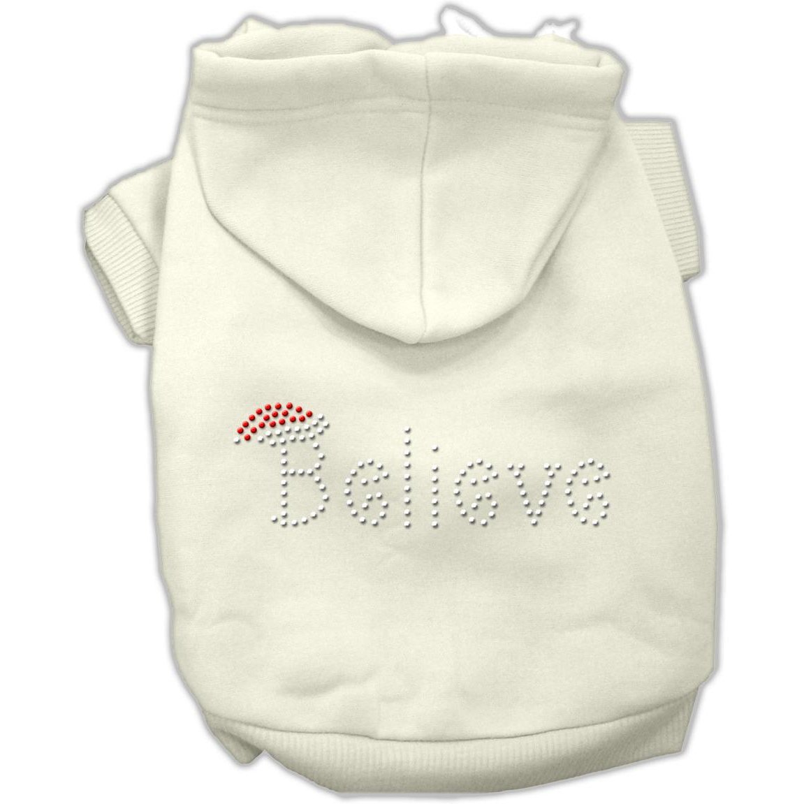 Believe Hoodies Cream XXL (18)
