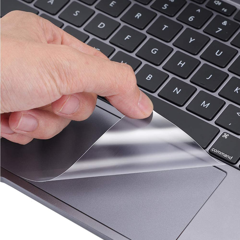 [2 PCS] TrackPad Protector for 2020 MacBook Pro 13 Inch A2251 A2289 Track Pad Cover & Protective Film Skin Laptop Accessories for MacBook Pro 13.3 inch with Touch Bar Touch ID Model A2251/A2289, Clear